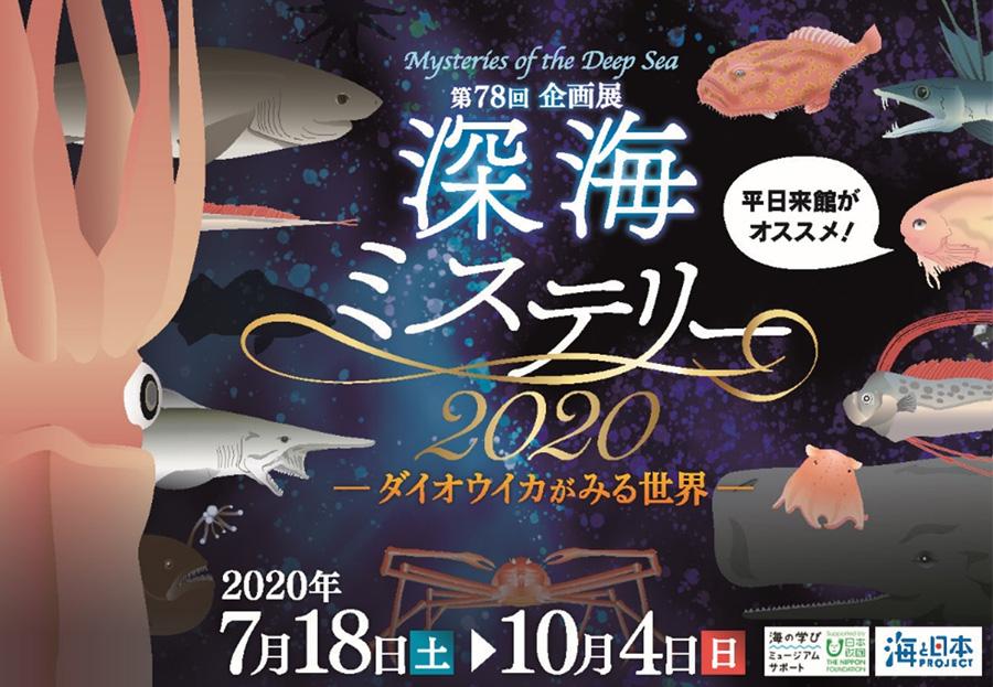 深海ミステリー2020 -ダイオウイカがみる世界-