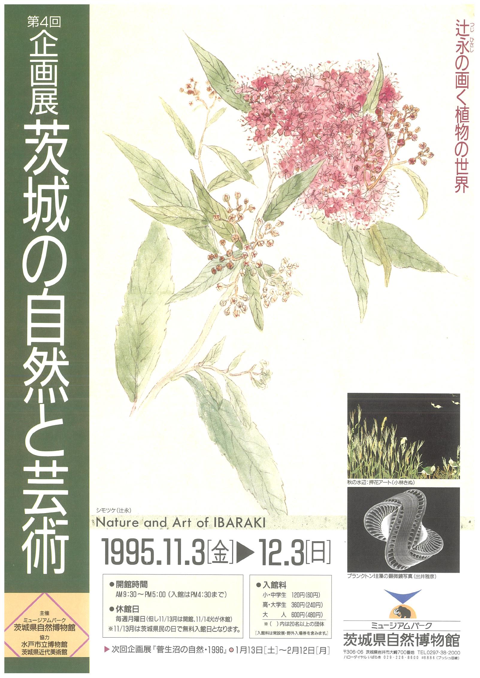 茨城の自然と芸術 -辻永の画く植物の世界-