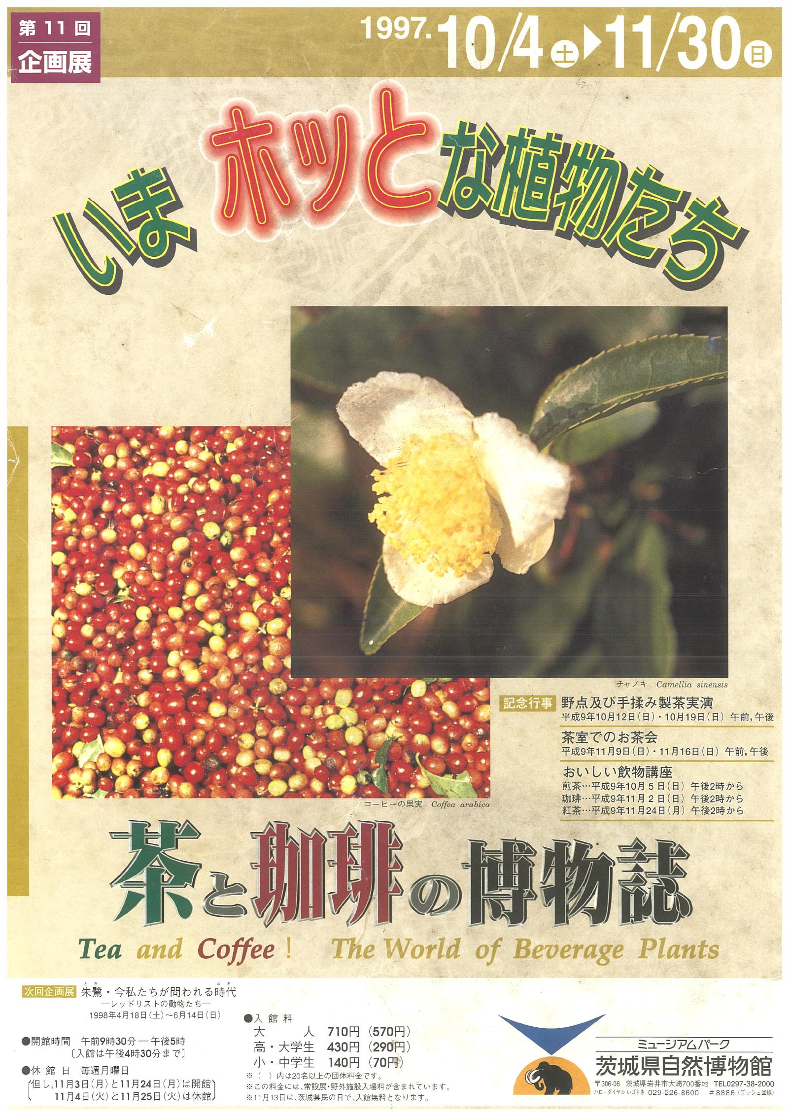 茶と珈琲の博物誌 -いま ホッとな植物たち-