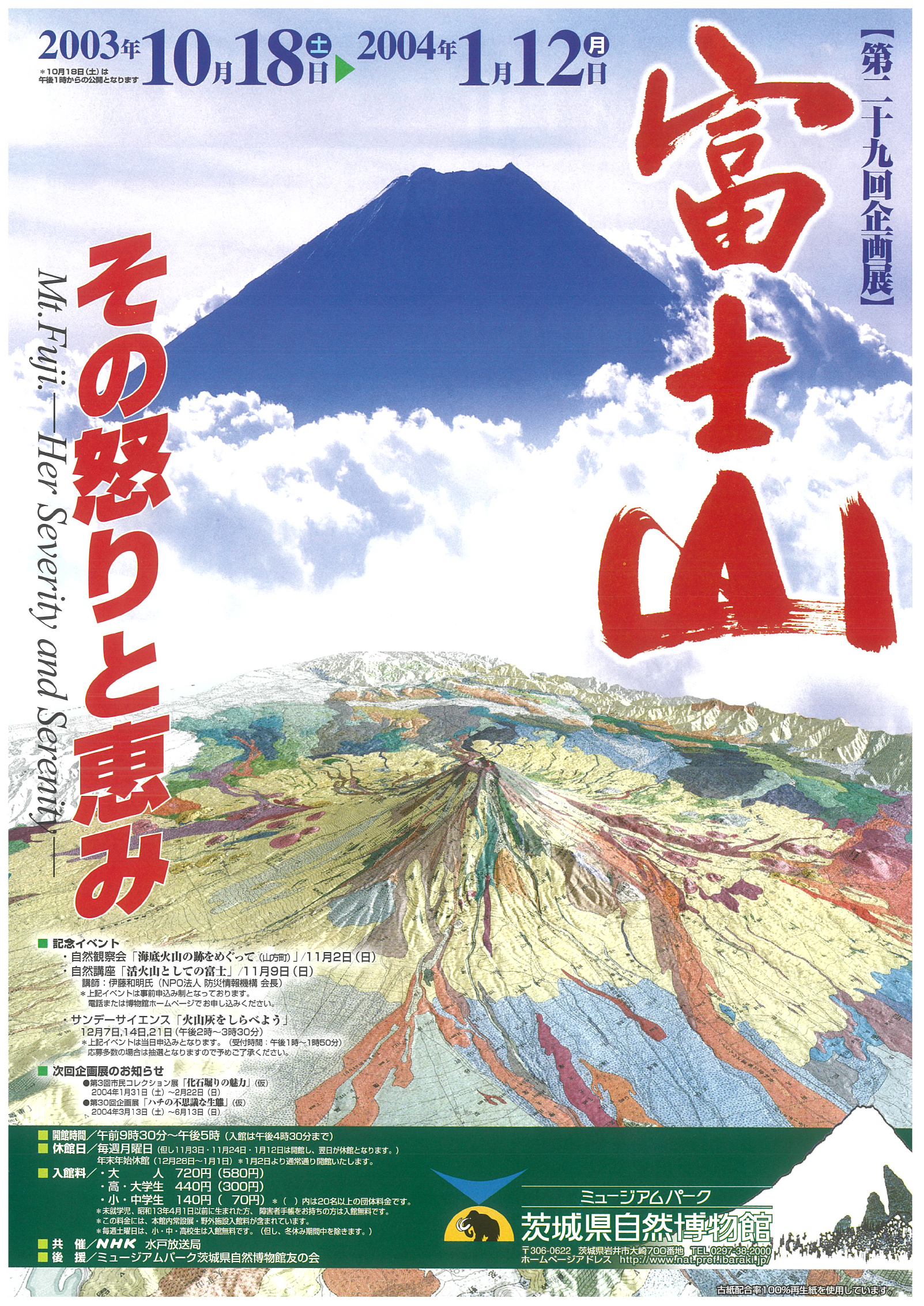 富士山 -その怒りと恵み-
